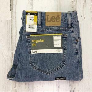 Lee Regular Fit Blue Jeans 36x36